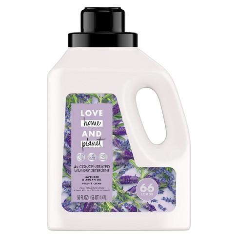 Love Home & Planet Lavender & Argan Oil Concentrated Laundry Detergent - 50 fl oz - image 1 of 4
