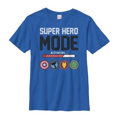 Boy's Marvel Super Hero Mode T-Shirt