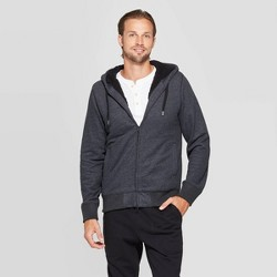 Men's Standard Fit Sherpa Lined Softshell Jacket - Goodfellow & Co™