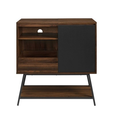 Laslo Mid-Century Modern Record Player Cabinet - Saracina Home