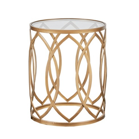 Gaige Metal Eyelet Accent Table - image 1 of 2