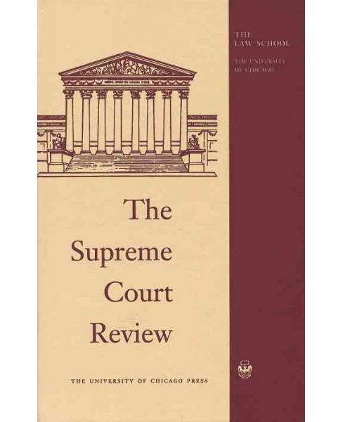 Supreme Court Review 2016 (Hardcover) - image 1 of 1