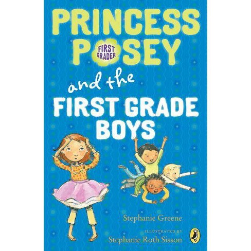 Princess Posey and the First Grade Boys - by  Stephanie Greene (Paperback) - image 1 of 1