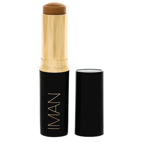 IMAN Second to None Stick Foundation - Deep/Tan Shades - .28oz - image 1 of 2