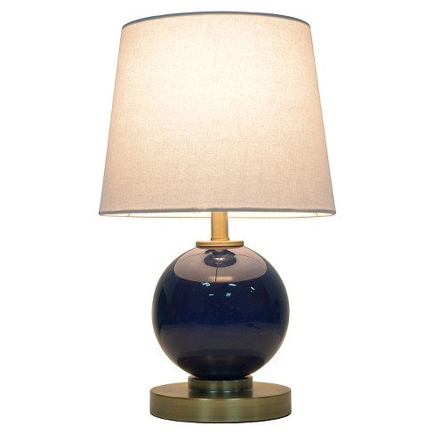 Gl Table Lamp With Touch On Off Pillowfort