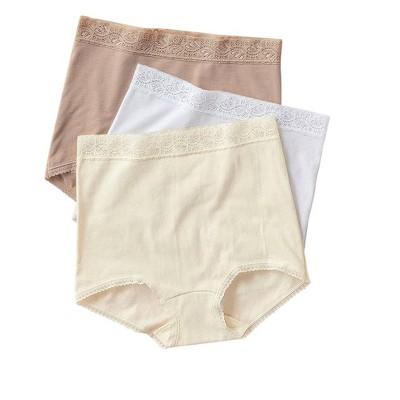 Leonisa 3 Full Hi-Waist Brief Panties