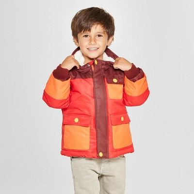 Toddler Boys' Ski Softshell Jacket - Cat & Jack™ Red 3T