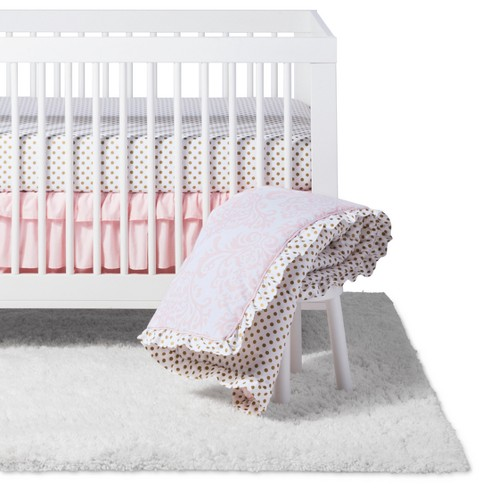 Sweet Jojo Designs Crib Bedding Set Amelia 4pc