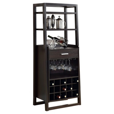Home Bar Ladder Style Cappuccino - EveryRoom