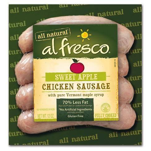 al fresco chicken sausage price