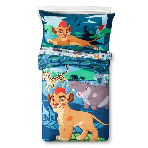The Lion Guard Blue Bedding Set (Toddler) 4pc - image 1 of 4