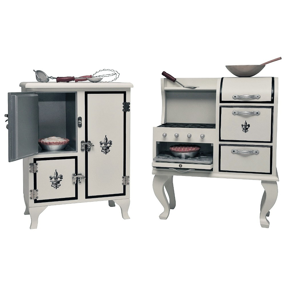 The Queen's Treasures Doll Kitchen Accessory Play Set