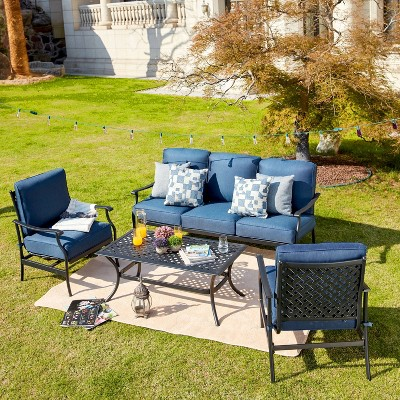4pc Outdoor Patio Seating Set - Patio Festival