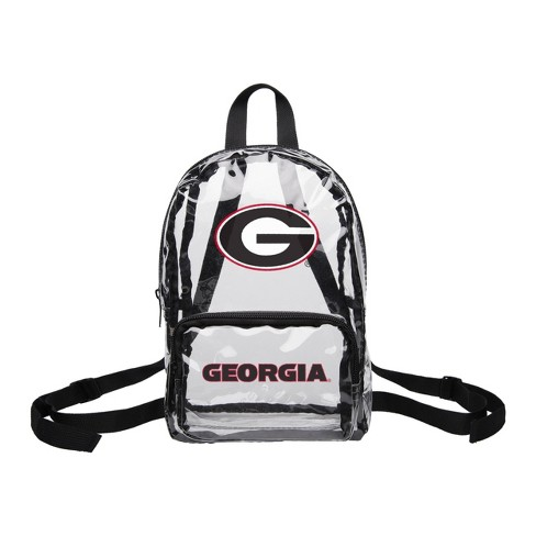 NCAA Georgia Bulldogs Clear Mini Backpack - image 1 of 1
