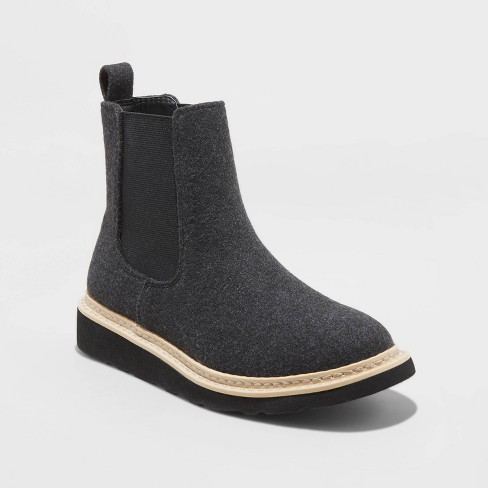 Women's Dawn Microsuede Fashion Sneakers Boots - Universal Thread™ - image 1 of 3