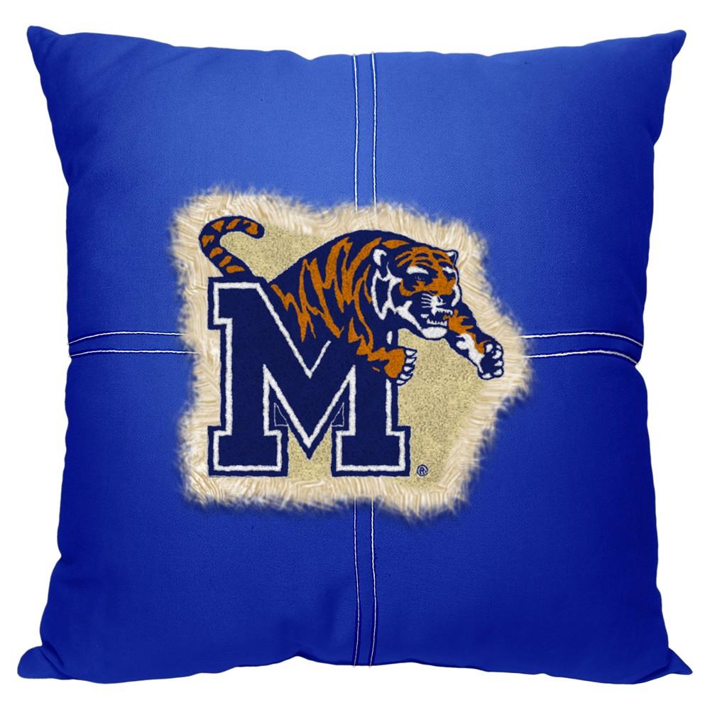NCAA Northwest Letterman Pillow Memphis Tigers