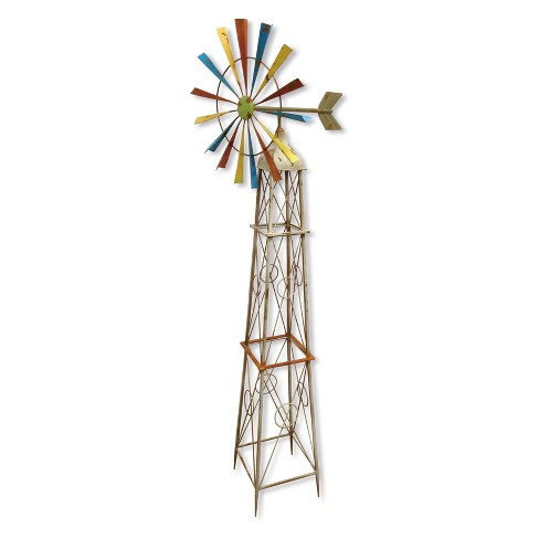 """63""""H Metal Outdoor Sculpture - Backyard Expressions - image 1 of 1"""