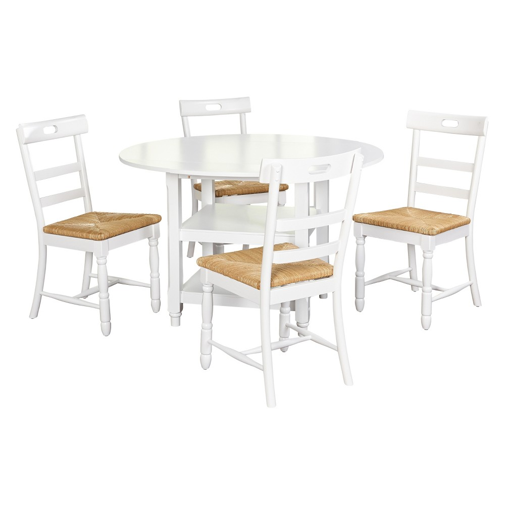 Target Marketing Sys Dining Table Set White