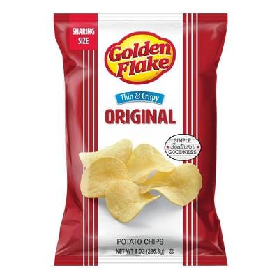 Golden Flake Thin & Crispy Chips 8oz
