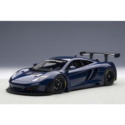 Mclaren 12C GT3 Azure Blue 1/18 Diecast Model Car by Autoart