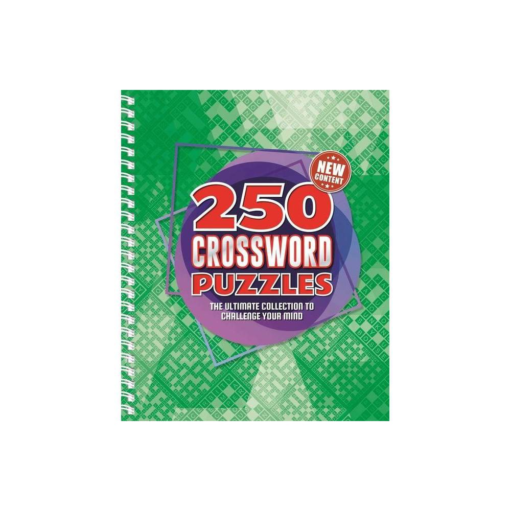 250 Crossword Puzzles By Igloobooks Spiral Bound