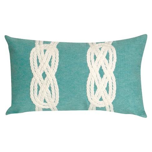 Aqua Throw Pillow - Liora Manne - image 1 of 1
