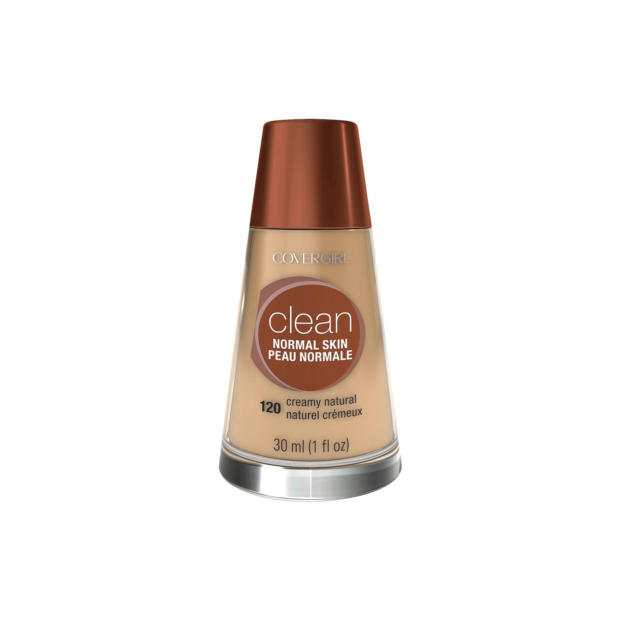 COVERGIRL Clean Foundation 120 Creamy Natural 1 fl oz