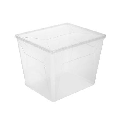 Ezy Storage 30L/31.7qt Karton Clear Tall Sweater Box