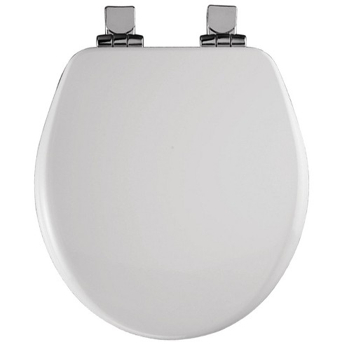 Marvelous Bemis 9170Chsl Round Close Front Toilet Seat With Chrome Hinges And Lid With Whisper Close And Sta Tite Seat Pdpeps Interior Chair Design Pdpepsorg