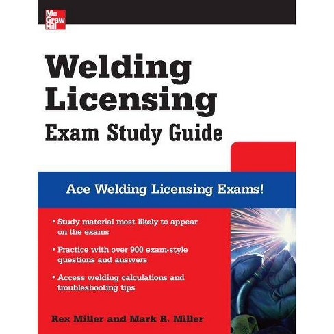 Welding Licensing Exam - (McGraw-Hill's Welding Licensing Exam Study Guide) (Paperback) - image 1 of 1