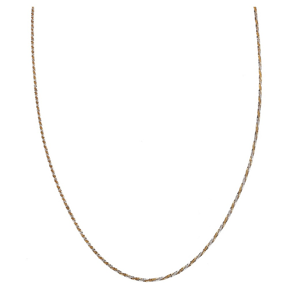 Target Two-Tone Chain with Lobster Clasp Closure in Sterl...