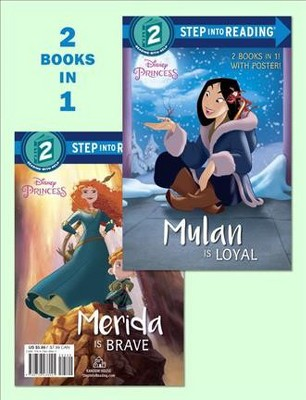 Mulan Is Loyal / Merida Is Brave (Paperback)(Cherie Gosling)