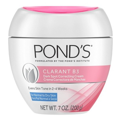 Facial Moisturizer: Pond's Clarant B3 Dark Spot Correcting Cream