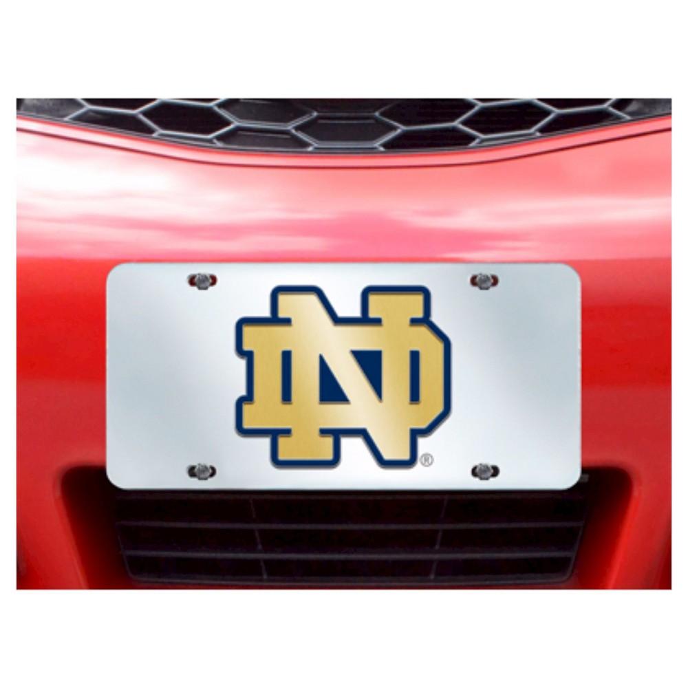 NCAA Notre Dame Fighting Irish FanmatsLicense Plate Frame