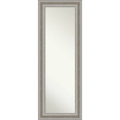 "20"" x 54"" Parlor Framed Full Length on the Door Mirror - Amanti Art"