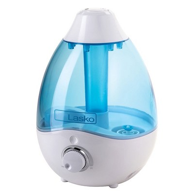Lasko LKO-UH200 Ultrasonic 360 Degree 95 Ounce Capacity Adjustable Nozzle Cool Mist Humidifier with Removable Water Tank and Cleaning Brush