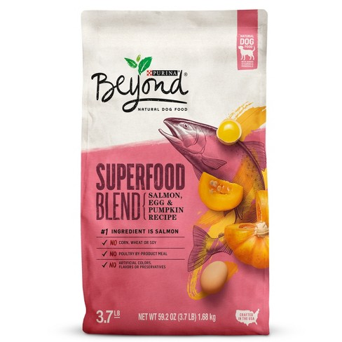 Purina® Beyond Superfood Blend Salmon, Egg and Pumpkin Recipe Natural Dry Dog Food - image 1 of 6
