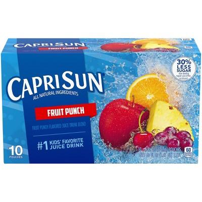 Capri Sun Fruit Punch - 6 fl oz Pouches/10pk