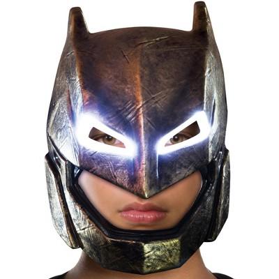 Rubies Batman V Superman: Dawn Of Justice Armored Batman Light Up Mask for Kids