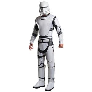 Halloween Star Wars Deluxe Villain Flametrooper Adult Costume- XL, Adult Unisex, MultiColored