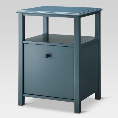 Vertical Filing Cabinet Overcast Hardwood 1 Drawer - Threshold™