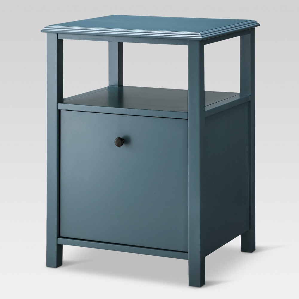 Vertical Filing Cabinet Overcast Hardwood 1 Drawer - Threshold was $159.99 now $79.99 (50.0% off)