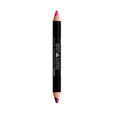 NYX Professional Makeup Shape Loud Lip Liner Duo - 0.07oz