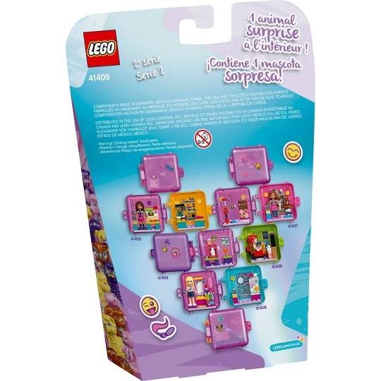 LEGO Friends Emma's Play Cube Building Kit 41409 image number null