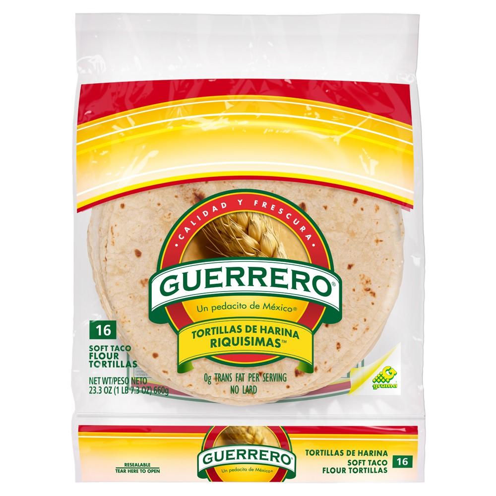 Guerrero Flour Tortillas 16ct