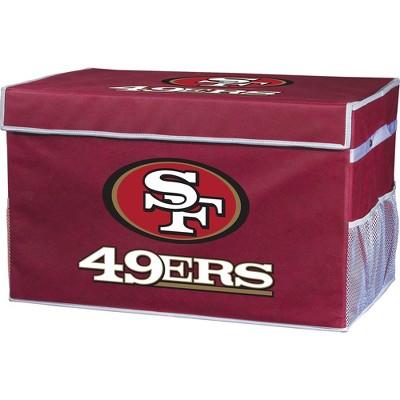 NFL Franklin Sports San Francisco 49Ers Collapsible Storage Footlocker Bins