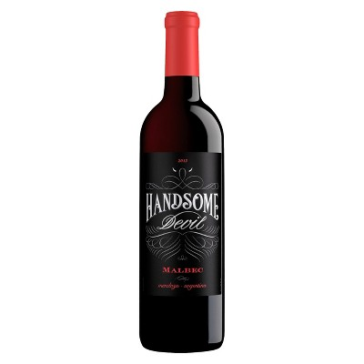 Handsome Devil Malbec Red Wine - 750ml Bottle