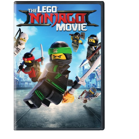 Lego Ninjago Movie Dvd Target
