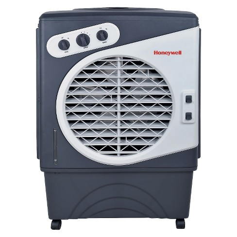 Honeywell -  125 Pt. Commercial Indoor/Outdoor Portable Evaporative Air Cooler - White/Gray - image 1 of 1