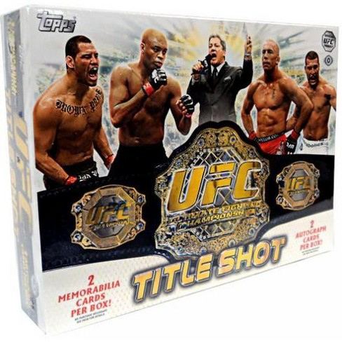 UFC Topps 2011 Title Shot Trading Card Box [12 Packs, 2 Autographs and 2 Memorabilia Cards!] - image 1 of 1